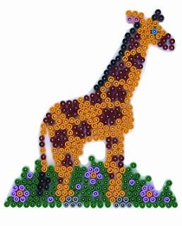 stiftplatte giraffe f r midiperlen hama b gelperlen hama midiperlen 5 mm stiftplatten. Black Bedroom Furniture Sets. Home Design Ideas