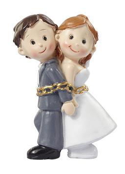 Figur Mini Hochzeitspaar In Ketten 5 Cm 1 Stuck Hochzeit