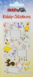 Kiddy Stickers bunt, Tiere  V